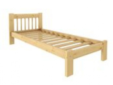 Кровать Дачная 800 х 1900 сосна, без покраски