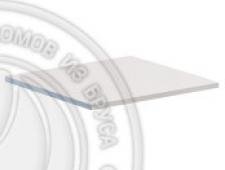 Полка для пенала 562 х 540 х 18, сосна, эмаль