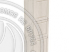 Пенал 2040 х 600 х 560 филенка, 3 двери (без полок), сосна, масло