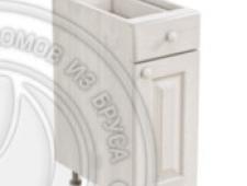 Тумба 1 дверь, 1 ящик 300 х 560 х 720 сосна, масло
