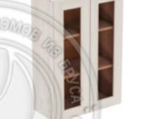 Шкаф навесной 600 х 300 х 900 под стекло, сосна, масло