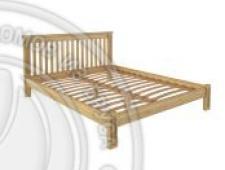 Кровать Pino Rino 2000 х 2000 сосна, без покраски