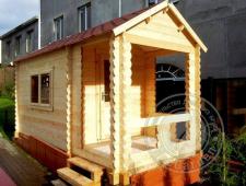 Садовый домик из бруса «Миллер»