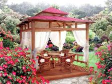 Садовая беседка «Романтик 2»