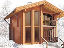 Дом из бруса 165мм