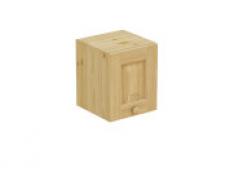 Шкаф навесной 300 х 300 х 360, сосна, бесцветный лак