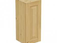 Шкаф навесной 300 х 300 х 720 филенка, сосна, бесцветный лак