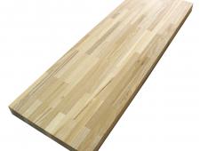 Столешница для кухни дуб 2500 х 600 х 40 натур сращенный