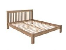 Кровать Rino 2000 х 2000 дуб, без покраски