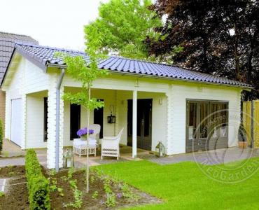 Садовый домик из бруса «Люкс»