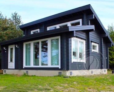 Дом из Экобруса 165 мм