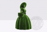 Садовая скульптура - дама с корзиной