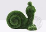 садовая скульптура топиари улитка