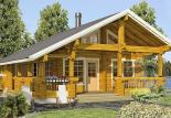 Дачный дом из бруса 70 мм