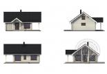 Дачный дом из 160 бруса Орион схема