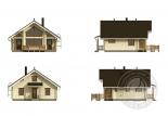 Дачный дом из 160 бруса Форпост схема