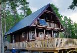Гостевой домик из бруса 70 мм Верона готовый дом