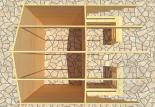 Садовый домик Конструктор №8 Вид 3