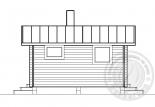 Баня из бруса 70 мм Калибри - вид 3
