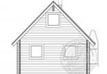Баня из бруса 70 мм Ротонда вид 4