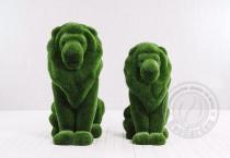 Садовая фигура - два льва