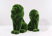 Топиар - два льва