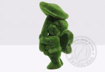 Садовая скульптура девочка с грибом