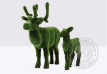 Садовая скульптура-Олень и оленёнок
