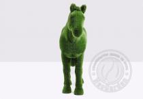 Садовая скульптура конь