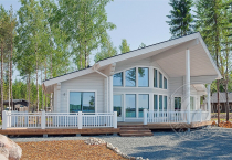 Гостевой дом из 160 бруса