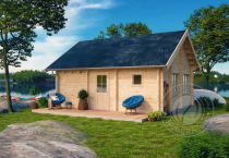 Гостевой домик из бруса 70 мм Аркона