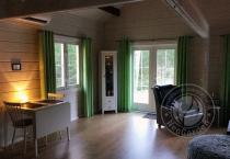 Гостевой домик из бруса 70 мм Кантон интерьер