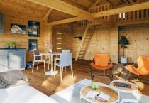 Гостевой домик из бруса 70 мм Кантон интерьер 2