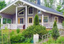 Загородный дом из бруса 160 мм Шале