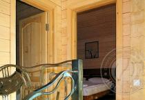 интерьер дома из бруса 3