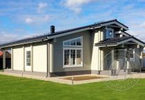 Загородный дом из бруса Балтика 4