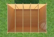 Садовый домик Конструктор №2 вид 1