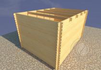 Садовый домик Конструктор №2 вид 3