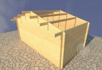 Садовый домик Конструктор №3 Вид 1