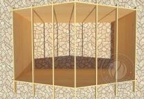 Садовый домик Конструктор №3 Вид 3