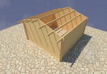 Садовый домик Конструктор №4 Вид 1