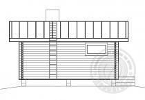 Баня из бруса 70 мм Касандра - вид 3