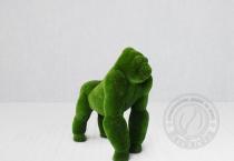 Садовая скульптура горилла