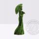 Садовая фигура - дама с зонтом