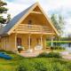 Гостевой домик из бруса 70 мм Верона