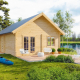 Гостевой домик из бруса 70 мм Кантон