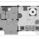 Загородный дом из бруса 70 мм Юпитер план