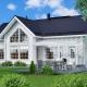 Загородный дом из бруса Аврора купить